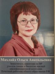 Махлайд Ольга Анатольевна